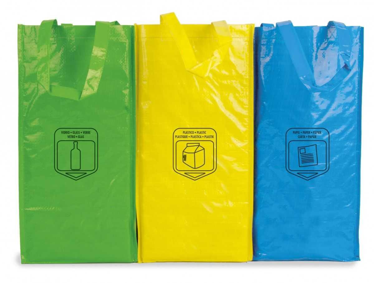 Medidas: 3 bolsas de 23x45x23 cm Área máxima de marcaje: 16x10 cm Material: Non woven laminado