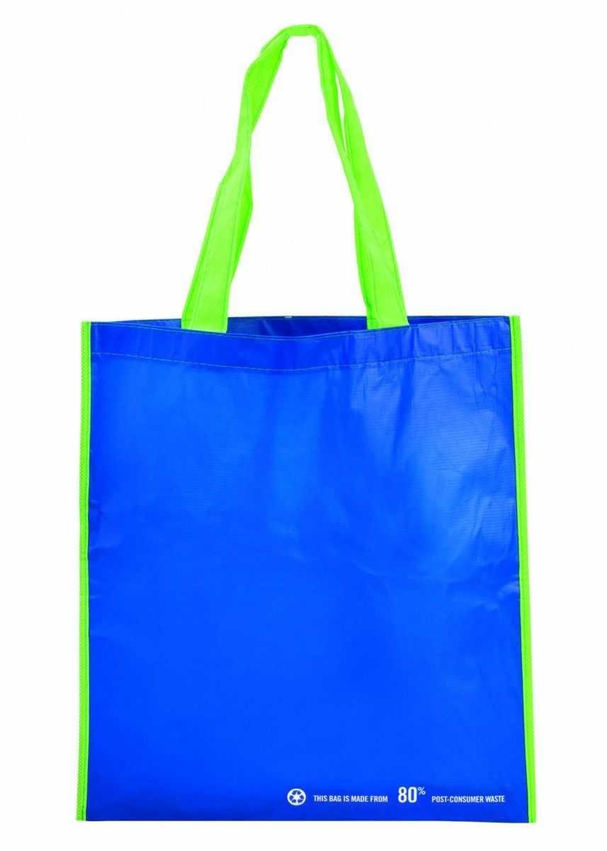 Medidas: 37,5x40,5 cm Área máxima de marcaje: 20x20 cm Material:PET reciclado 80%