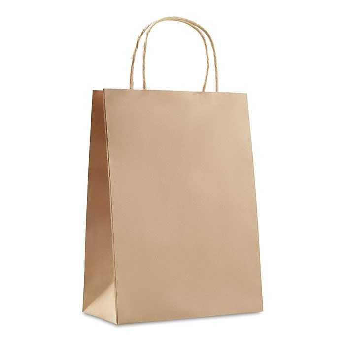 Bolsa papel publicidad compra regalo mediana
