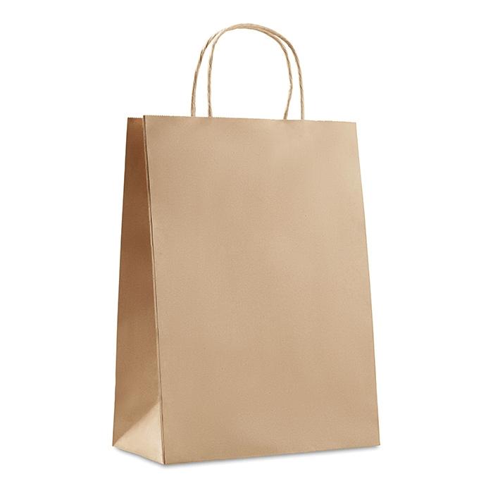 Bolsa de papel para publicidad tamaño grande
