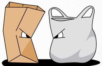 Bolsas ecológicas Vs bolsas de plástico