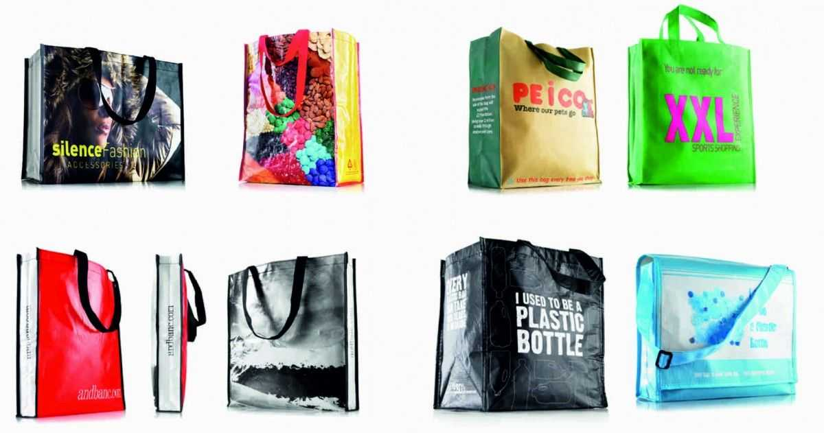 Materiales para bolsas publicitarias personalizadas