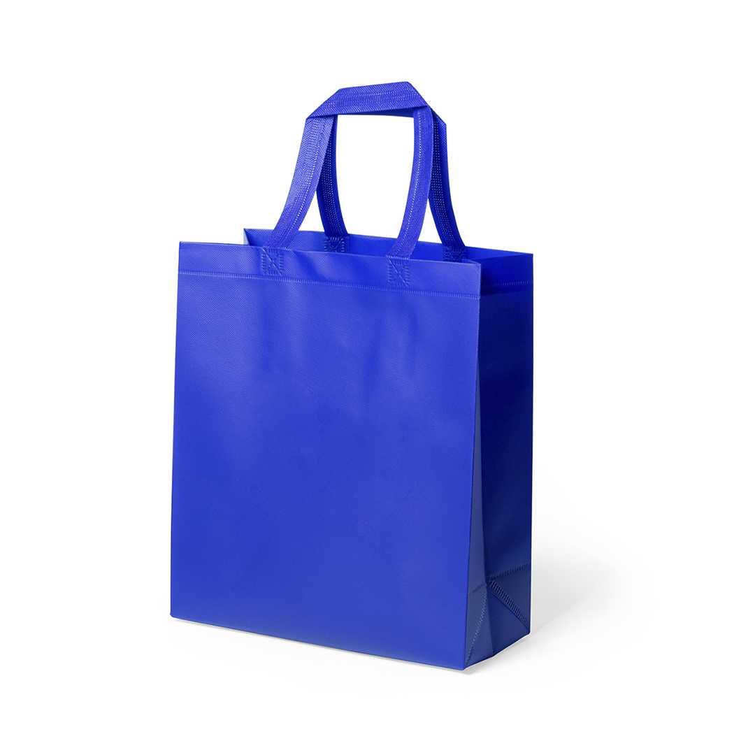 Bolsa extra resistente en non-woven laminado de 110 g/m2, en variada gama de vivos colores brillantes. Con asas cortas de 35cm, fuelle y acabado termosellado. Resistencia hasta 15kg de pesoMedidas: 40x35x15 cmPeso: 55 gÁrea máxima de marcaje: 265x250 mm